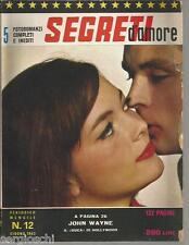 FOTOROMANZI SEGRETI D'AMORE # 12-GIUGNO 1963-JOHN WAYNE-JACK LEMMON
