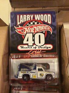 Hot Wheels Larry Wood 40 Years of Design Ramblin' Wrecker RLC Stored Since Purch
