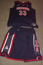 ARIZONA WILDCATS rare 2011 Nike Elite prototype basketball jersey #33 and shorts