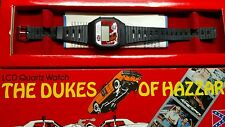 1981 The Dukes Of Hazzard LCD Quartz Watch General Lee Unisonic still in box