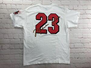 RARE Vintage 90's NIKE Michael Jordans The Restaurant Swoosh T Shirt 90s Kids XL