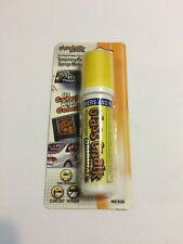 Glass Chalk Sponge Marker,No 10105, Yellow Temporary Paint Marker