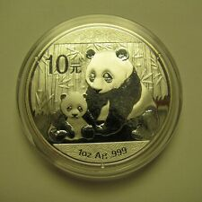 2012 10 Yuan China Panda 1 oz .999 silver COIN ONLY