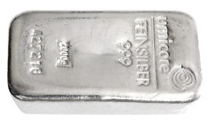 1000 Grams 999.0 Fine Silver Umicore 1kg Silver Bullion Bar