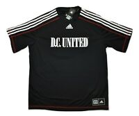 adidas MLS Mens D.C. United Climalite Soccer Football Jersey NWT XL, 2XL