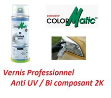 VERNIS 2K SPECIAL ANTI UV APRES RENOVATION OPTIQUE DE PHARE PRO Saab