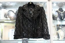 Chanel 15K Mesh Jacket Size 40 $15,250 Retail