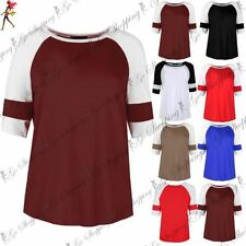 Unbranded Striped Plus Size T-Shirts for Women
