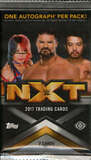 2017 TOPPS WWE NXT WRESTLING HOBBY PACK FACTORY SEALED NEW