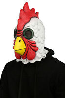 US NEW Latex Mask Adult Halloween Richard Rooster Mask Hotline Miami Cosplay