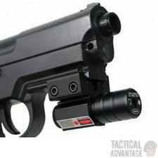 Compact Red Dot Pistol Laser Sight Fits 20mm or 11mm Rail Airsoft Airgun Gun UK