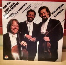 Mehta New York Philharmonic Brahms Double Concerto Zukerman violin