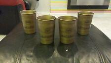 6 x BACARDI CUBA LIBRE METAL CUPS BRAND NEW HOME PUB/BAR/MANCAVE/GIFT/PARTY