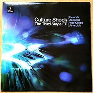 """Culture Shock - The Third Stage EP 12"""" Vinyl Record RAM Records – RAMM 66"""