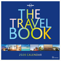2020 The Travel Book Wall Calendar