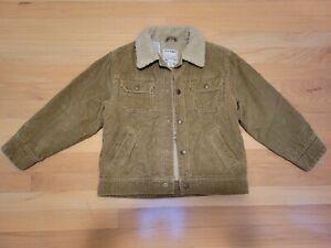 Corduroy Jacket, Lined, Boys Size 6,Light Brown/Beige color,100% cotton,Old Navy