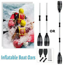 Kayak Fishing Boat Paddle Inflatable Paddle Summer Water Rowing Boat Oars 2Oars