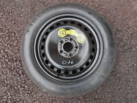 VOLVO V50 2.0D '08 SPACE SAVER SPARE WHEEL 125/85 R16