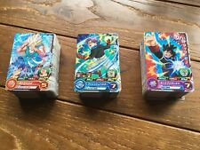 LOT 210 pcs  DRAGON BALL Z HEROES CARDS SET NO DUPLICATES TRADING CARD