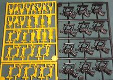 Eagle Games British 1800's Zulu War Cavalry + Infantry 1/72 Mos Yellow Plastic