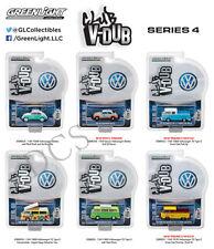 GREENLIGHT CLUB V-DUB SERIES 4 ASSORTMENT Set Of 6 Volkswagen 1/64 DIECAST 29860