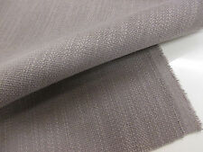 """Mid Grey """"Plain Soft Woven"""" Linen Blend Heavy Upholstery Fabric. By NEXT"""