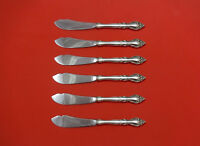 Malvern by Lunt Sterling Silver Trout Knife Set 6pc. HHWS  Custom 7 1/2""
