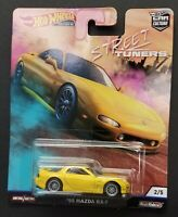 2019 PREMIUM Hot Wheels Car Culture STREET TUNERS W/REAL RIDERS '95 MAZDA RX-7