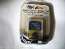 ProNav Western Europe Upgrade for PNN220 PNN300 PNN400 NAVTEQ transport data