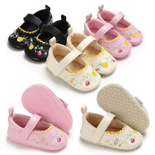 Christmas Gift Baby Girl Soft Sole Pram Shoes Infant Mary Janes Princess Shoes