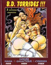 BD adultes  Torrides 3 histoires complètes : Nana, Luxure Galactique, Cybersexe