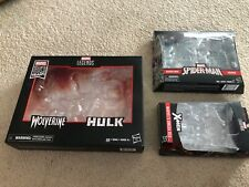 Hasbro Marvel Legends box lot Omega Red Wolverine/Hulk & Black Costume/Kraven