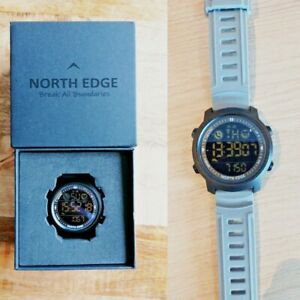 NORTH EDGE Smart Watch Men Heart Rate Waterproof Sports Pedometer Android IOS