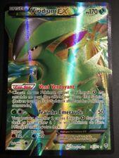 Carte Pokemon VIRIDIUM 96/101 EX Full Art Noir et Blanc Française