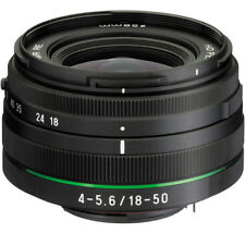 New PENTAX HD DA 18-50mm f/4.0-5.6 DC WR RE Lens