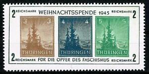 ALLEMAGNE 1945  BLOC n°1 Occupation Alliée (zone Soviétique)  neuf ★★ Luxe / MNH