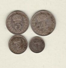 More details for 1945 george vi maundy four coin set in good extremely fine condition.