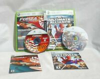 Marvel Ultimate Alliance & Forza Motorsport 2 Xbox 360 Live Game 2006 Rated Teen