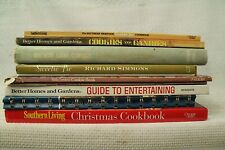 big lot old cookbooks cook books Christmas Guide to Entertaining candy cookies