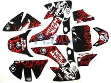 GRAPHICS DECALS STICKERS KIT HONDA CRF50 SDG 107 110 125 PIT DIRT BIKE V DE59