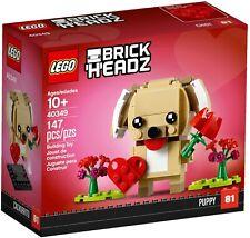 Lego Brick Headz - Valentine's Puppy - 40349