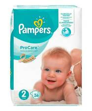 Pro-Care Essential Nappies - Size 2.  3kg- 6kg. 36 Nappies.