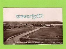 Brooklands Weybridge Motor Track & Aviation Grounds RP pc used 1913 WHA