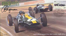 1963d LOTUS-CLIMAX, BRABHAM-CLIMAX, SOUTH AFRICA F1 cover signed CLIVE CHAPMAN