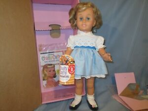 "VTG Mattel Classics Chatty Cathy doll 1998 NIB 20"" pull string says 11 phrases"