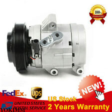 A/C Air Compressor & Clutch Co 11209Z For 2006-12 Ford Fusion Mercury Milan 2.5L