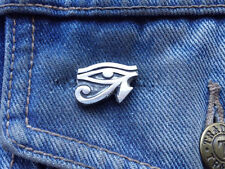 Eye of Ra Pewter Pin Badge