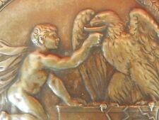 Rare Grande Coupe en Bronze, Ferdinand LEVILLAIN (1837-1905), BEAUX ARTS 1885