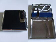 boite à cigarette briquet USB noir