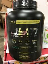JYM Supplement Science PRO JYM Mint Chocolate Chip 4lb Whey Protein Exp 2/19